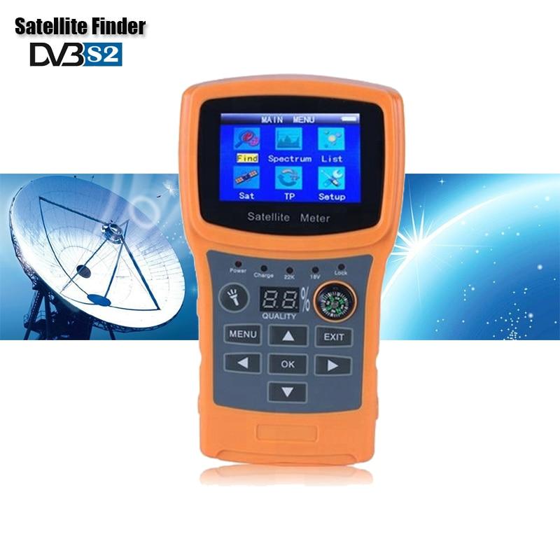 SF-710 détecteur de Satellite pour récepteur de télévision par Satellite HD satfinder DVB S2 TV TUNER Sat finder 950-2150 Mhz