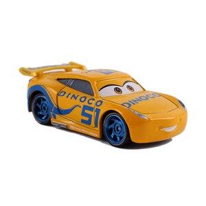 Image 2 - Disney Pixar Cars 2 & Cars 3 Dinoco Cruz Ramirez & Jackson Storm โลหะ Diecast รถ 1:55 หลวมยี่ห้อใหม่ในสต็อก