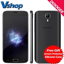 Оригинал DOOGEE X9 Pro 4 Г LTE Мобильный телефоны Android 6.0 2 ГБ RAM 16 ГБ ROM MTK6737 Quad Core 720P Dual SIM 5.5 дюймов Сотовый Телефон смартфон