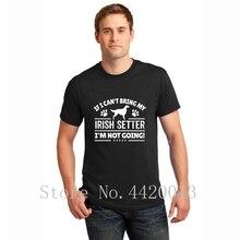 Designs tee shirt S-3xl irish setter dog owner cool gift idea Trend fashion Spring Autumn Formal hip hop tshirt for men