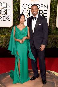Dresses Golden Globe Awards Cleberity Chiffon Green in Split Long Bead-Sash Rhinestone