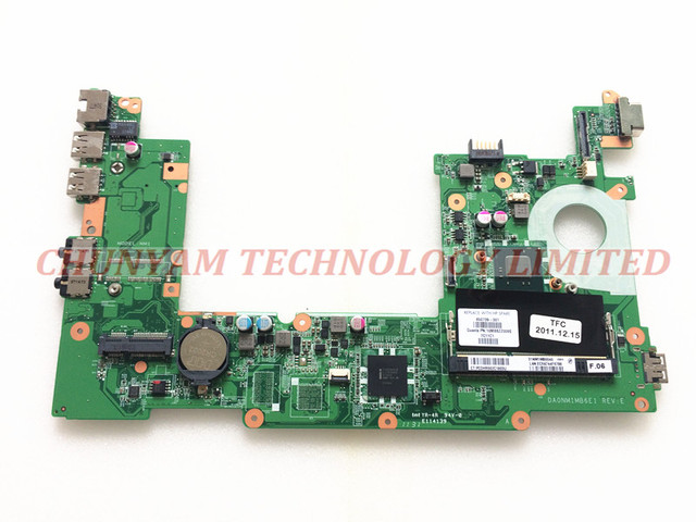 650739-001 para hp mini 110 mini 210 series laptop motherboard da0nm1mb6e1 rev: e n570 mainboard 90 dias de garantia de 100% testado