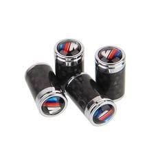4pcs/Set ///M M-POWER Logo Emblem Car Styling Tire Valve Caps Air Tyre Stems Cover Automobile Motorcycle Wheel Accessories