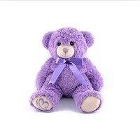Lavanta Ayı Teddy Doll Sevgililer Günü Için Hediye Büyük Teddy Bear Minnie