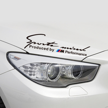 Aliauto Car-styling Sports Mind Produced By ///M Performance Power Car  Sticker & Decal Accessories For BMW E46 E90 E39 E60 F30