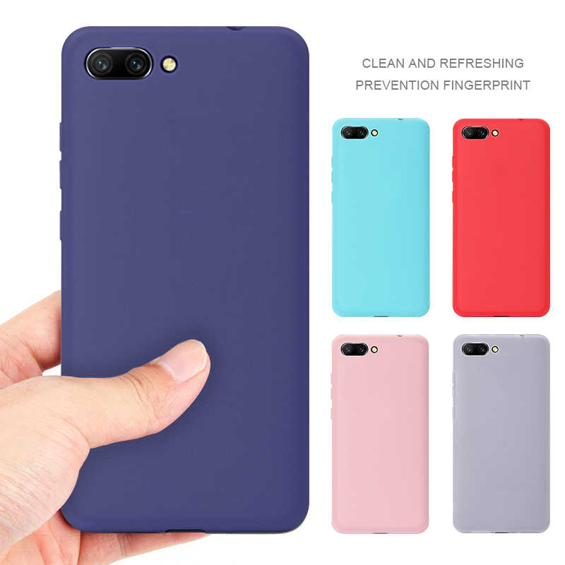 Matte Colorful TPU Case For Huawei Honor 8X Max 8C Play 7C Pro 6C Pro Note 10 Cover Case For Honor 10 9 Lite V9 Play Soft Cases