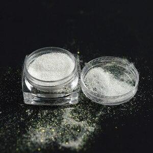 Image 2 - New Fashion 1 Bottle Shining Nail Glitter Dust Sugar Coating Effect Powder DIY Decoration Dust Nail Art Manicure Tool BETY01 05
