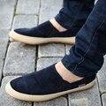 Los nuevos hombres zapatos casuales zapatos de hombre primavera otoño Mocasines Inglaterra Moda Zapato Transpirable Slip on pisos