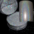 Hot Laser Silver Glitter 0.2mm(N32) 0.1mm(N101) 0.08mm N301 Nails Art Manicure UV Tip Powder Dust Nail Tips Decoration Colorful