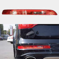 MZORANGE Left Right Side Rear Bumper Light Reflector Without Bulbs Lower Tail Lamp Cover For Audi