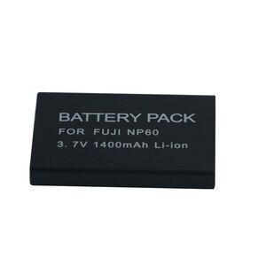 Image 2 - 1400mAh NP 60 FNP60 NP60 SLB 1137 1037 CNP 30 K5000 D Li2 Li 20B Battery for Fujifilm F50I F501 F401 ZOOM F410 F601 F601Z