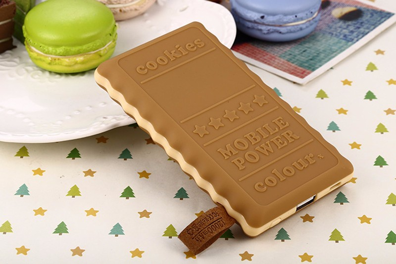SA18-4-Colors-Cute-8000mAh-Cookie-Power-Bank-Portable-External-Battery-Backup-Charger-Birthday-Gift-Universal-For-Mobile-Phones- (3)