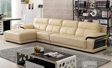 European modern leather sectional Classical corner Sofa