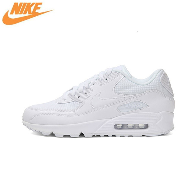 Кроссовки Nike WMNS Air Max 90 Essential Для женщин Кроссовки, оригинальный Для женщин из дышащего сетчатого материала спорта на открытом воздухе Спортивная обувь кроссовки Обувь