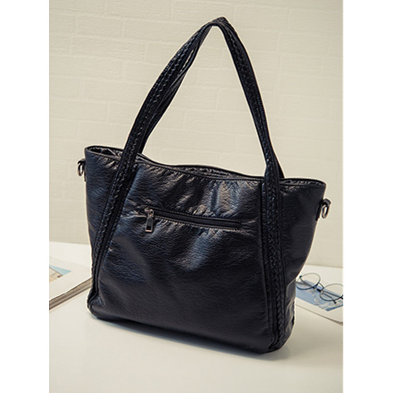 Crossbody Bags For Women Leather Handbags 2018 Fashion Women Messenger Bags Shoulder Bag Female Big Bucket Bag Designer WYQ177 9