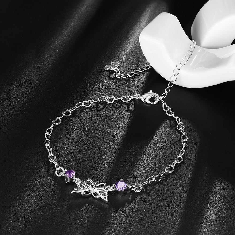 accessories girl bracelet crystal love ankle jewelry from bracelets fashion women foot in anklet butterfly item beach designer on shape for chain anklets fahion