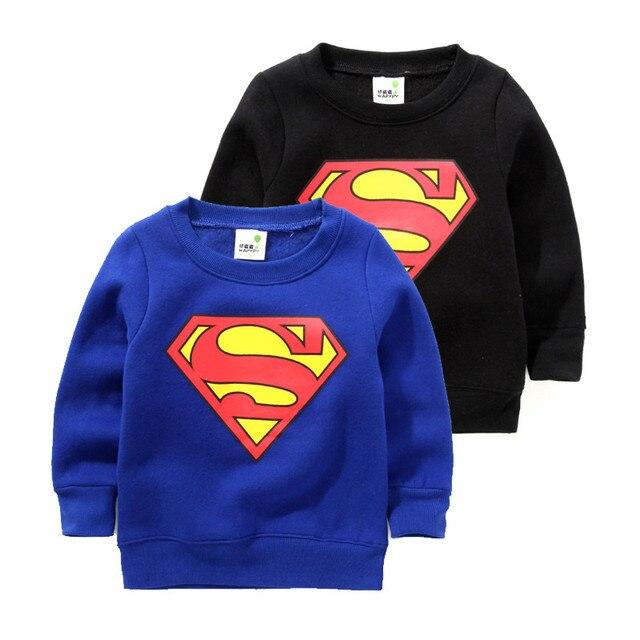 2017 толстовки дети супер мужчина дети толстовки мальчики руно теплый пуловер толстовка дети толстовки мальчиков балахон