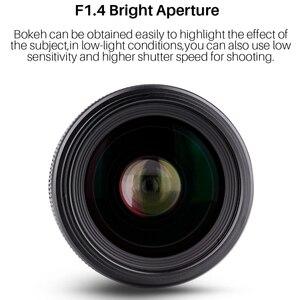 Image 4 - Objectif grand Angle YONGNUO YN35MM F1.4 pour objectifs de caméra reflex numérique à ouverture lumineuse Canon pour objectif Canon 600D 60D 5DII 5D 500D 400D