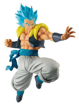 """Dragon Ball SUPER: Broly\"" Original Banpresto ULTIMATE SOLDIERS THE MOVIE IV Collection Figure - Super Saiyan God SS Gogeta"