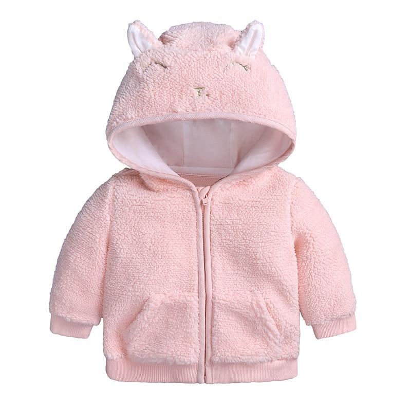 Der GüNstigste Preis Neue Baby Winter Oberbekleidung Hoodies Jungen Kaschmir Mäntel Mädchen Nette Jacken Infant Kleidung Warm Halten Kostüme Crianças Jaqueta Novel (In) Design;