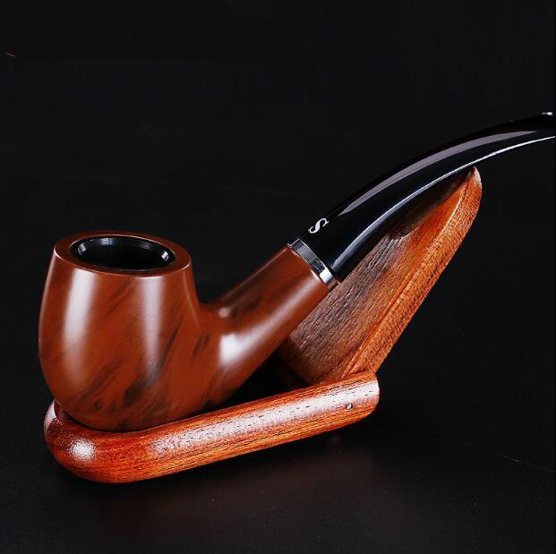 Klasik Rudiments Logam Bakelite Jenis Membungkuk Cerutu Merokok Pipa - Barang-barang rumah tangga