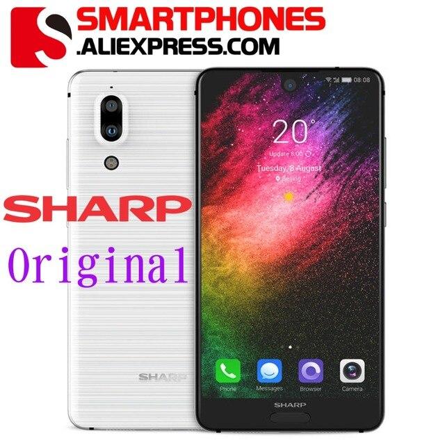 Original Sharp S2 FS8010 5.5''FHD+ 2040*1080Pixels Snapdragon630 Octa Core 2.2GHz 12MP+8MP Camera OS7.1 3020mAh 4G Smart Phone