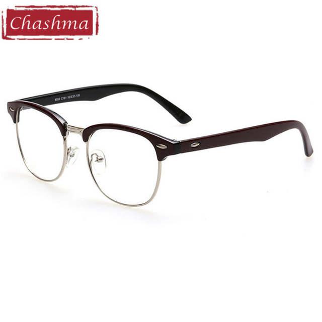 90c1acafb6d90 Chashma Marca Terminou Óculos De Miopia Miopia Óculos de Design Clássico  Pronto-1.0-1.5