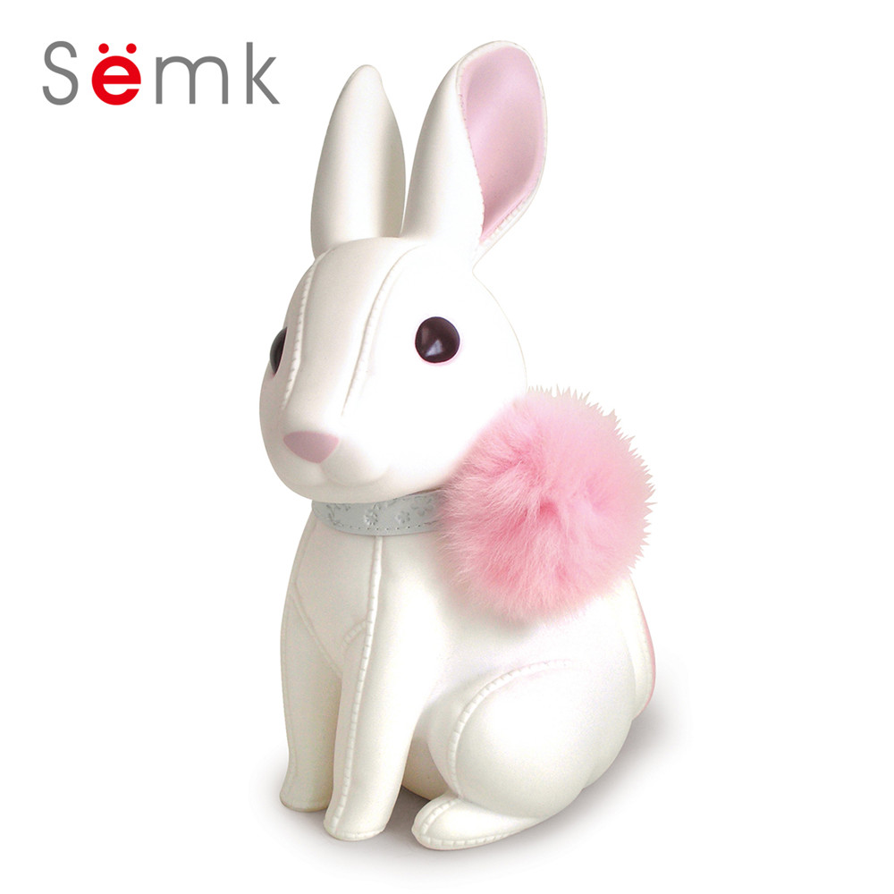 Semk Bunny Action Figure Cute Rabbits Doll Anime Toys Vinyl Coin Bank Best Gifts for Kids With Paper Box Gift Packing tetiana tikhovska paper doll