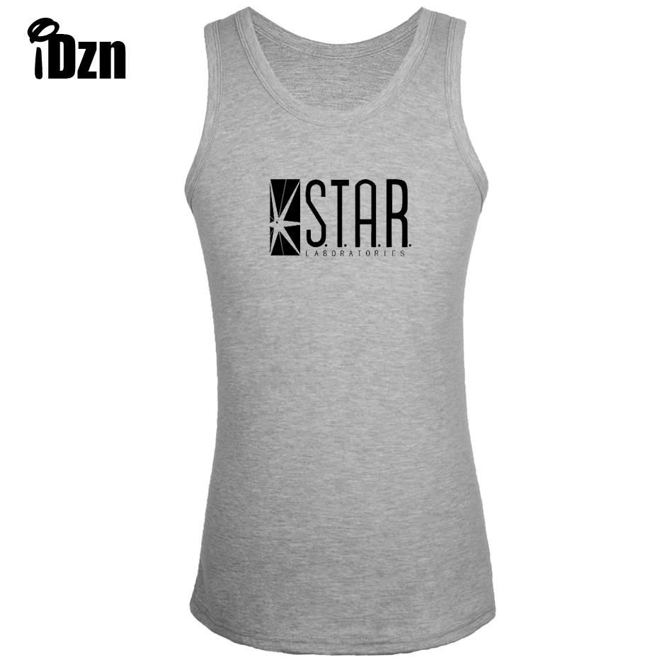 Idzn fitness bodybuilding clothing new singlets men tank top dc idzn fitness bodybuilding clothing new singlets men tank top dc comics the flash star laboratories star labs sleeveless vest in tank tops from mens biocorpaavc Gallery