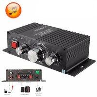 KROAK 15W 2 Channel Mini Car Home HIFI AMP Stereo Audio Power Amplifier For Radio AUX