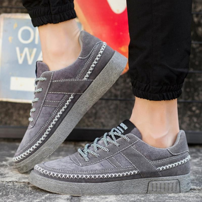 Prix pour 2017 Hommes Sports de Plein Air Chaussures Hommes Respirant Sneakers École Garçons Ont Adoré Planche À Roulettes Chaussures