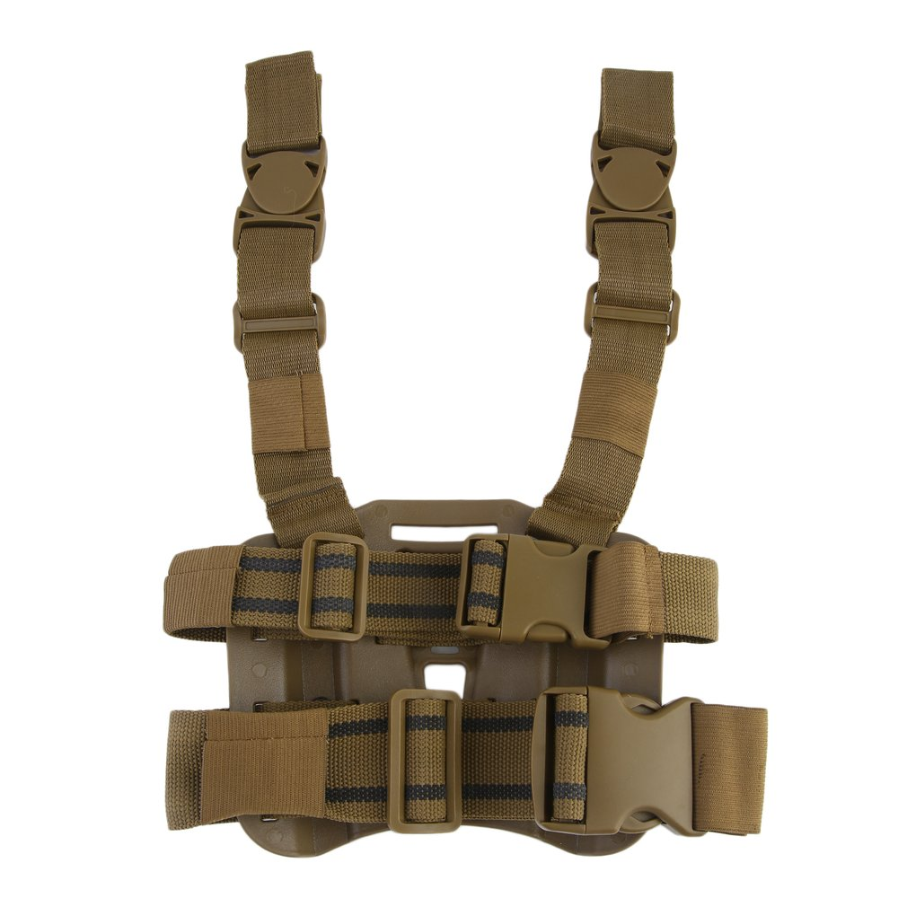 OUTAD Practical Tactical Drop Leg Thigh Rig Holster Outdoor Hunting War Game Airsoft Drop Leg Thigh Rig Holster Platform