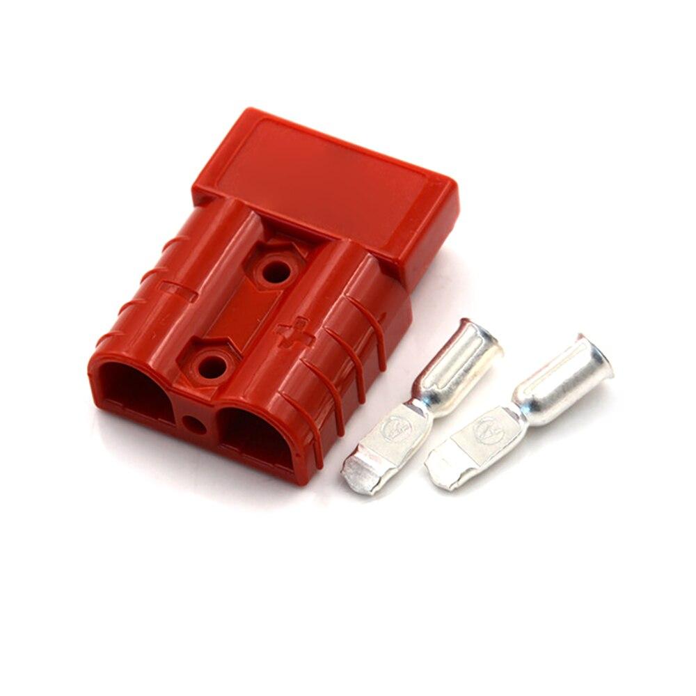 Vehemo для Plug 50A 600 в штепсельный соединитель мощность разъем Железнодорожный электрические системы высокий ток Plug мощность Сменные - Цвет: red