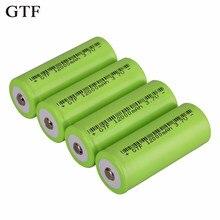 Gtf 26650 bateria 3.7v 12000mah recarregável li-ion bateria para lanterna tocha bateria recarregável acumulador de bateria