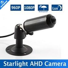 StarLight 0.0001 Lux Mini Bullet 960 P 1080 P HD AHD 1.3MP Cámara de 2MP Cámara de Seguridad CCTV 3.7mm Lente para DVR AHD