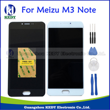 Original For Meizu M3 Note M681H M681Q Replacement Touch Screen Digitizer+LCD Display For Meilan Note 3 White Black+Tools