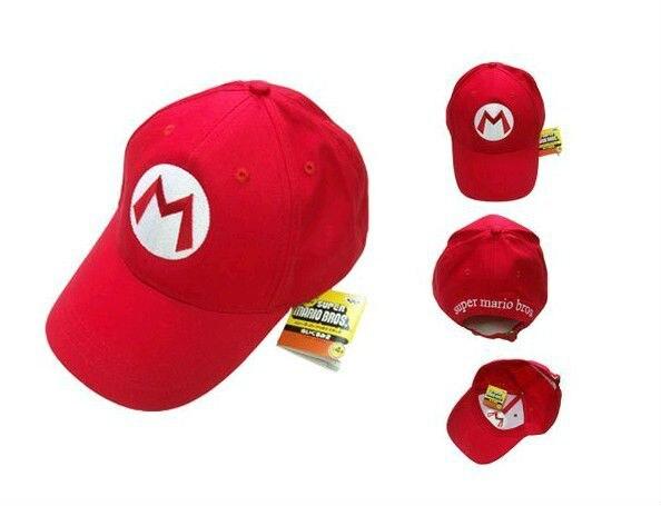 15pcs lot Super Mario Baseball Caps 5 color and 5 styles mixed Mario Luigi  Wario af9eaf2d170b