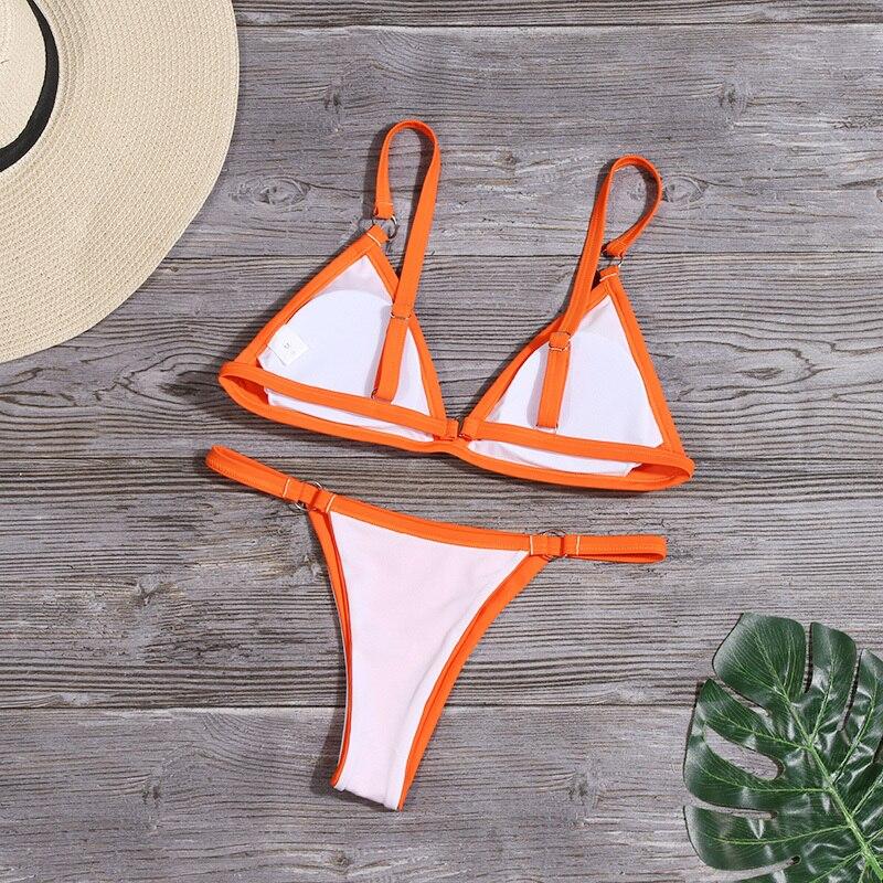 HTB1ZwNyel1D3KVjSZFyq6zuFpXam HolaSukey Sexy Solid Bikini Set Women Brazilian Bikinis Ring Patchwork Swimsuit Bathing Suit Female Summer Swimwear Beachwear