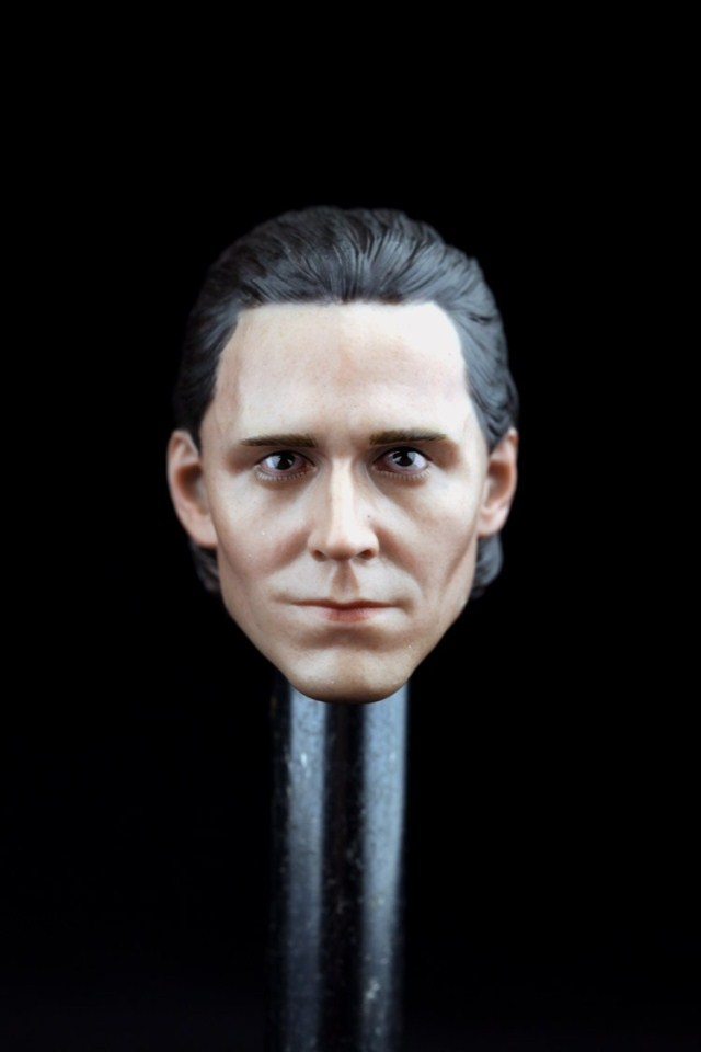 1/6 Scale Loki Head Sculpt  Cool Male Star Head Carving Model Fit 12Collectible Doll Toys Accessories