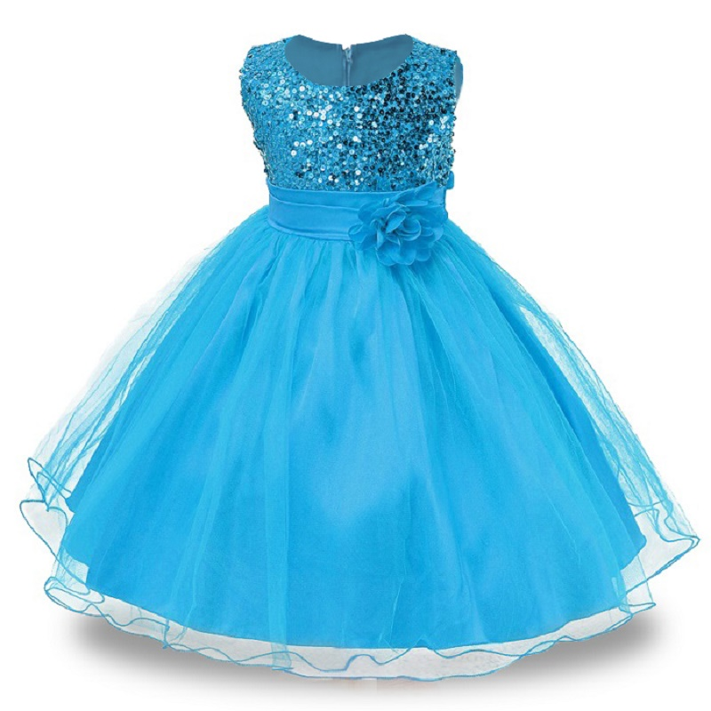 3-14yrs-Hot-Selling-Baby-Girls-Flower-sequins-Dress-High-quality-Party-Princess-Dress-Children-kids-clothes-9colors-3