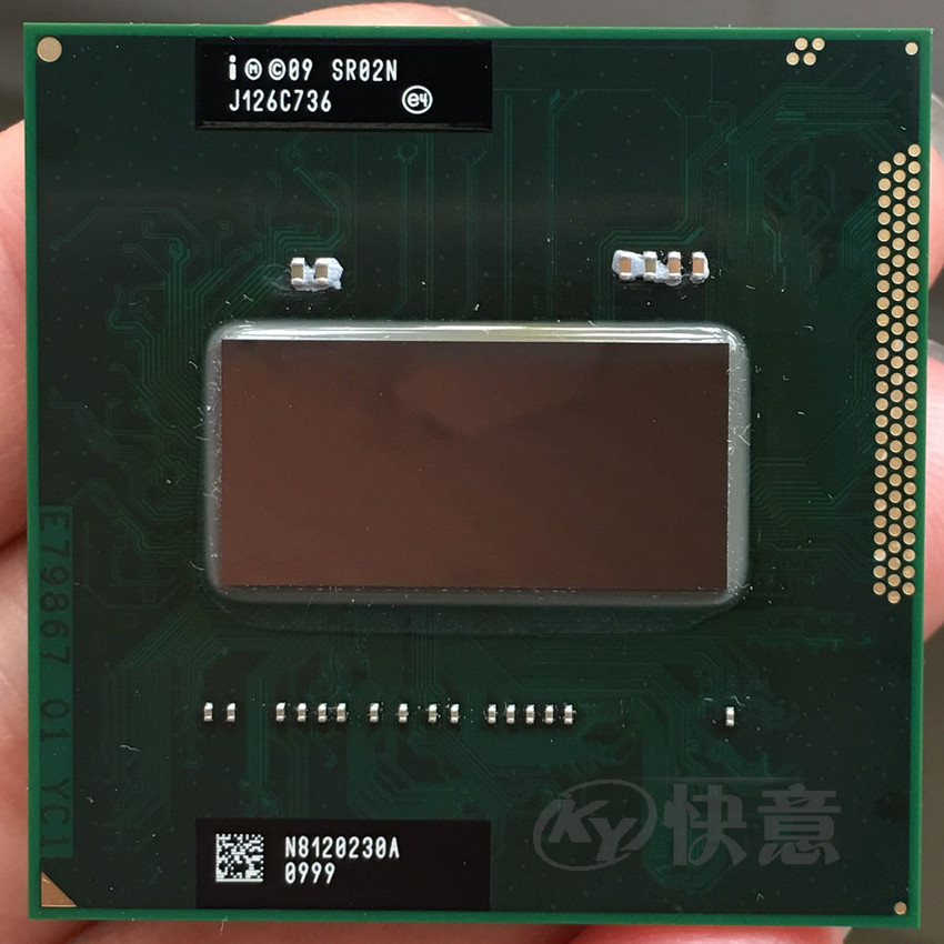 Original intel CPU I7 2670QM SR02N I7 2670QM SRO2N 2 2G 3 1G 6M For HM65