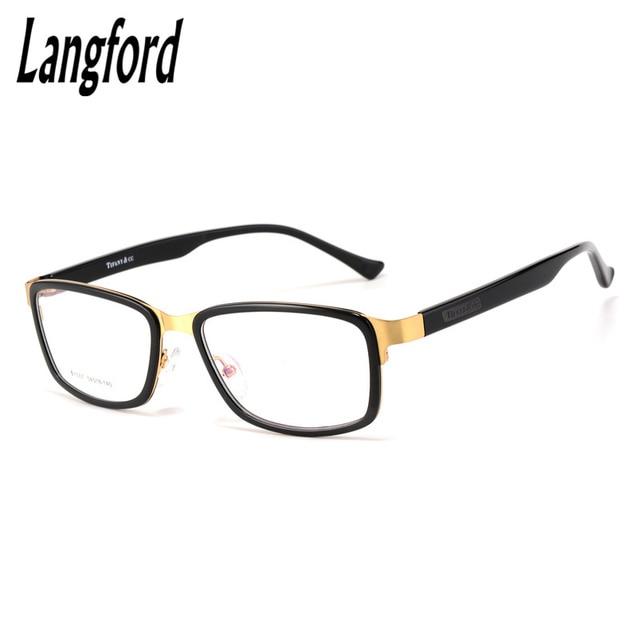 7aacfbca0cba4 Quadro óculos moldura quadrada homens mulher óculos armações de óculos de  acetato ópticos simples flexível confortável