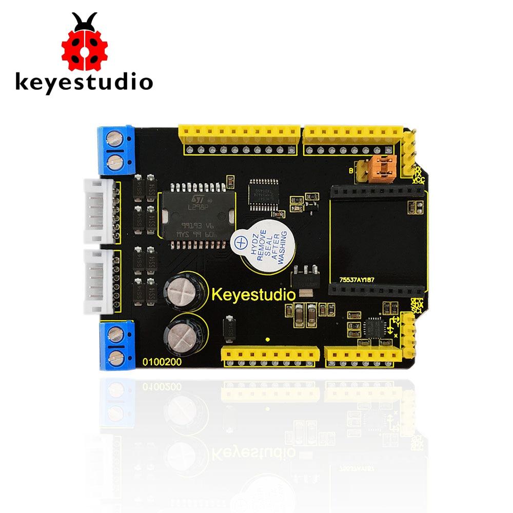 2017 New! keyestudio Balance Car Shield is compatible for arduino balancing car motor drive