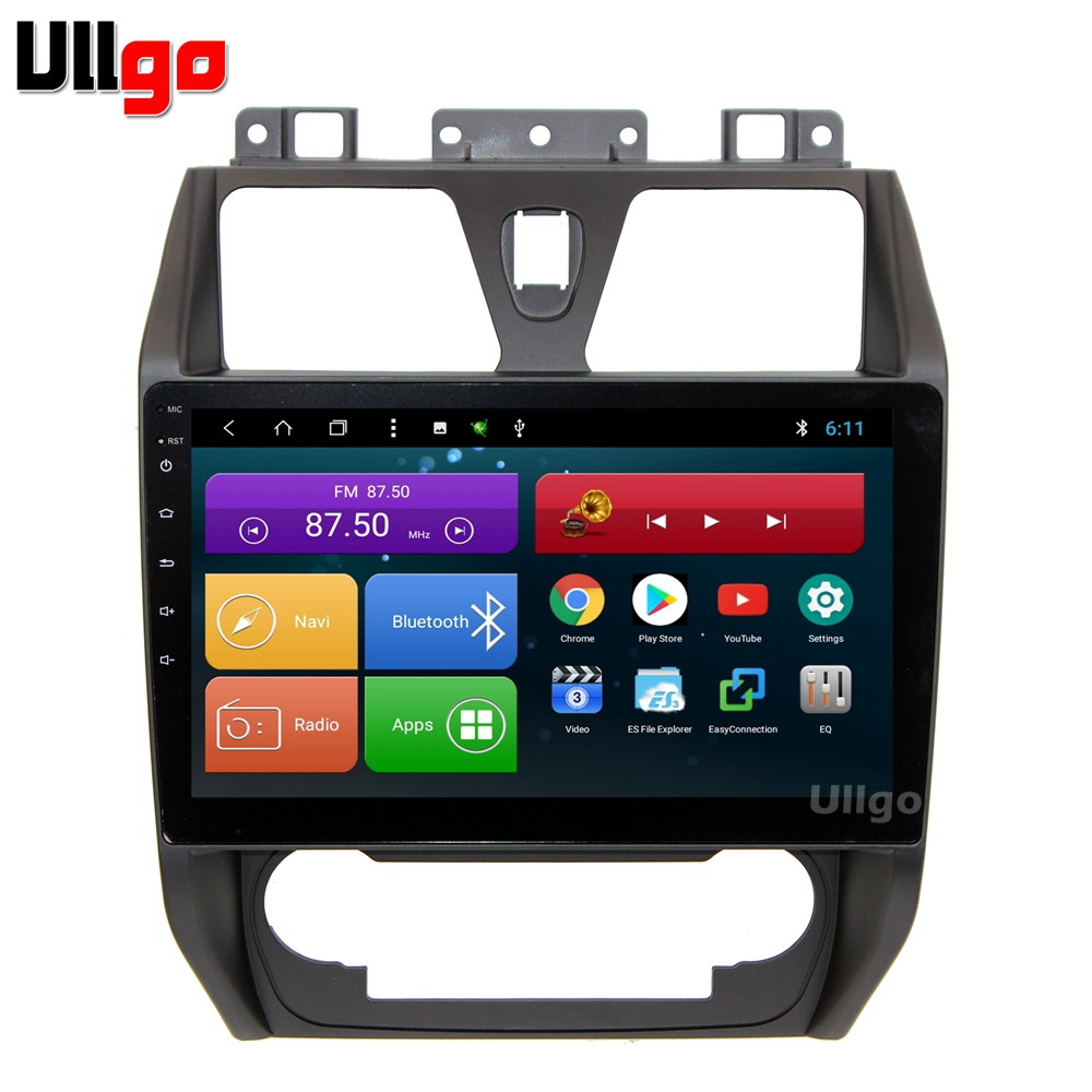 4G + 64G Octa Core 10.1 ''Android 8.1 voiture DVD GPS pour Geely Emgrand EC7 Autoradio GPS unité de tête de voiture avec Radio RDS BT Mirrorlink