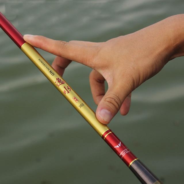 2.7-5.4meters fishing rods high-quality stream  fishing pole hard taiwan fishing rod  Top quality custom carbon fast transport