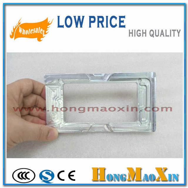 LCD Outer Glass Alignment Mould Metal Holder For Refurbishing iPhone 7 and For iPhone 7 Plus 5.5' alignment Model Precise Mold