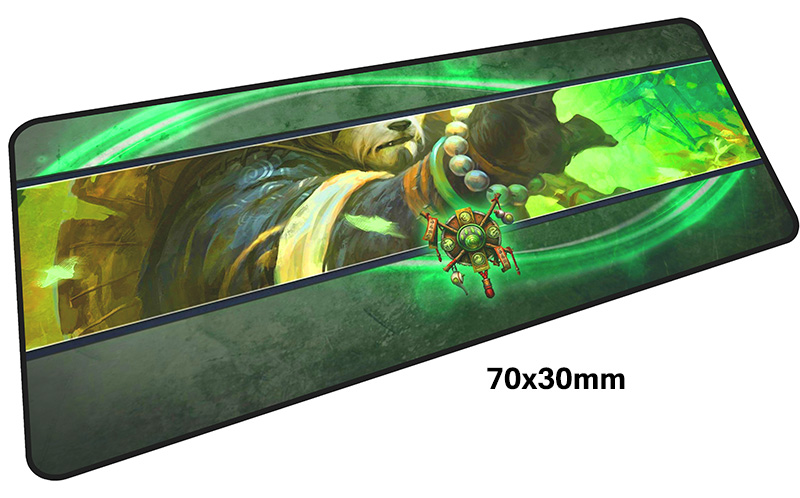 Deathwing mousepad gamer 700x300X3MM gaming mouse pad large Paladin notebook pc accessories laptop padmouse ergonomic mat