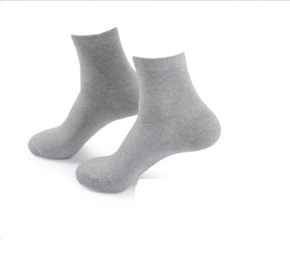 3 pairs/1 packs mens socks brand new mens socks cotton business dress summer solid colored black white short sokken winter sox