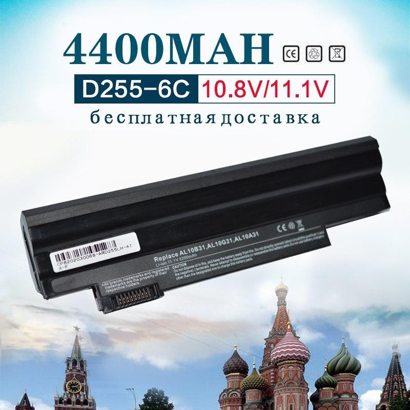все цены на 6Cell Laptop Battery for Acer AL10B31 AL10G31 D270 D260 AOD255 AOD260 522 D255 722 D255E D257 D257E D270 E100 AL10A31 ICR17/65 онлайн