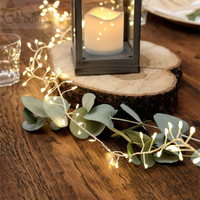 Cluster String Lights 10FT 300LED Gerlyanda Decorative Wreaths Lights Outdoor Copper Wire Fairy Lights Christmas String